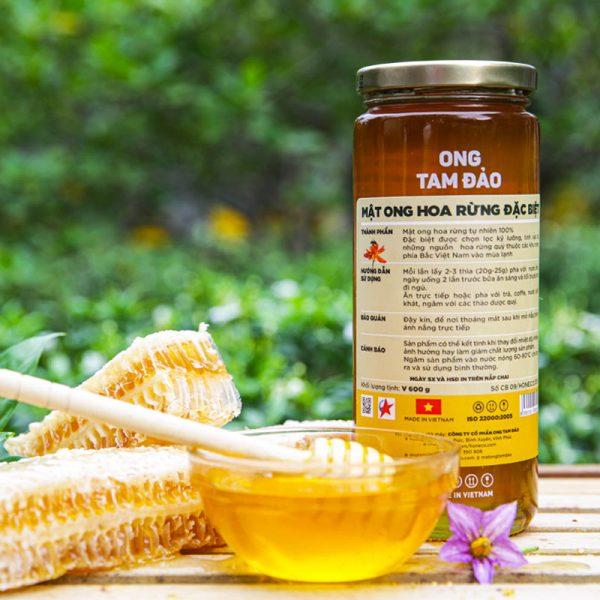 Mật ong hoa rừng Tam Đảo tự nhiên 100%