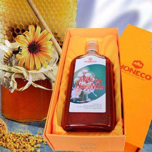 Hộp quà mật ong hoa nhãn