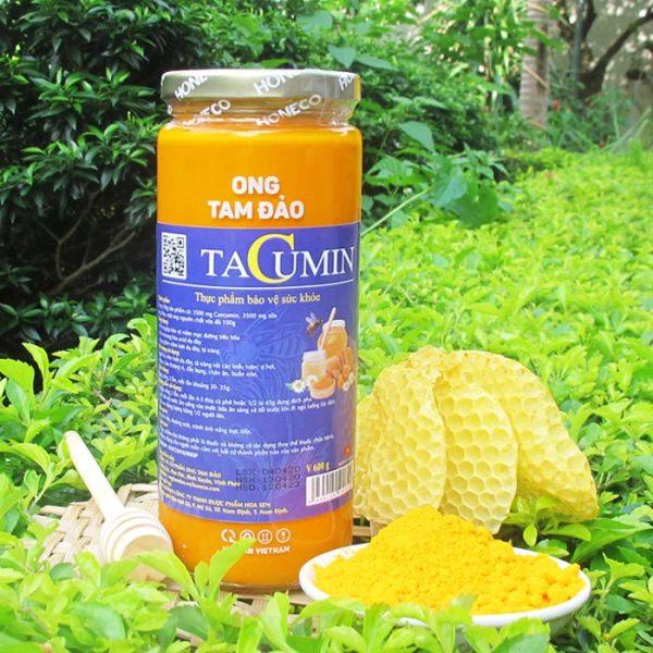 Tacumin là sự kết hợp hoàn hảo giữa tinh chất nghệ Curcumin , sữa ong chúa tươi và mật ong từ thiên nhiên