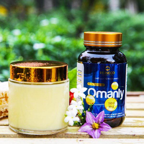 Viên sữa ong chúa Omanly