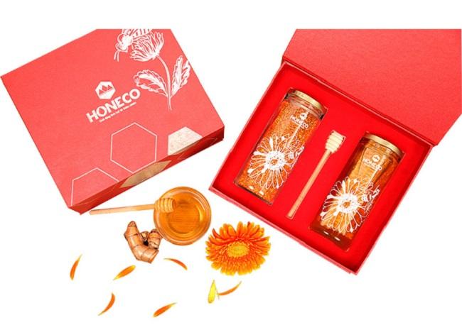 Hộp quà tặng Honeco có nhiều loại sản phẩm cho khách hàng lựa chọn