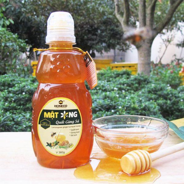 Mật ong quất gừng sả Tam Đảo