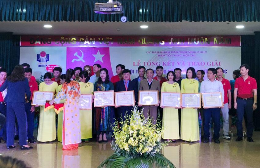 Giải thưởng hội thi sáng tạo kĩ thuật tỉnh Vĩnh Phúc