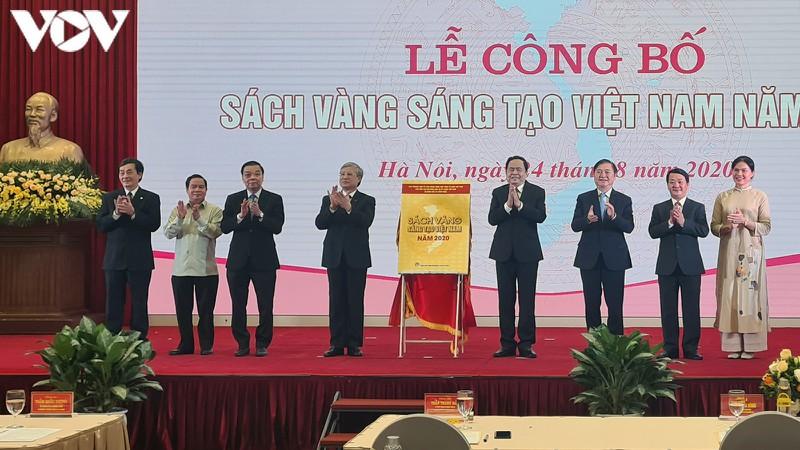 Lễ công bố Sách vàng sáng tạo Việt Nam 2020