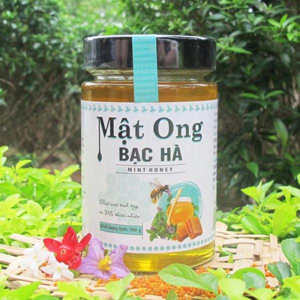 Mật ong hoa Bạc Hà khai thác tại mèo vạc Hà Giang