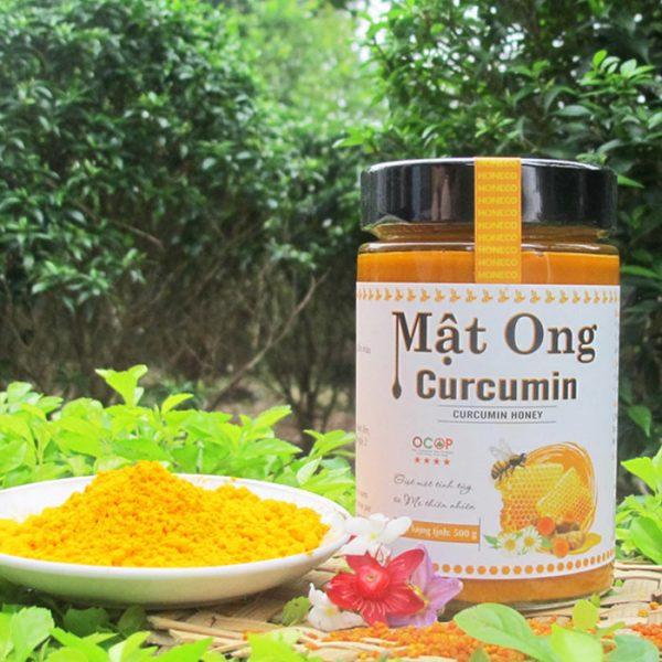 Mật ong Curcumin là sự kết hợp giữa mật ong hoa rừng nguyên chất và tinh chất nghệ curcumin