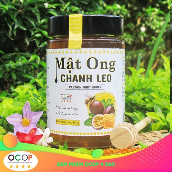 Mật ong Chanh Leo chứng nhận ocop 4 sao
