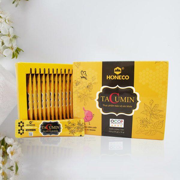 Stick Tacumin Honey - Giúp giảm viêm loét dạ dày tá tràng.