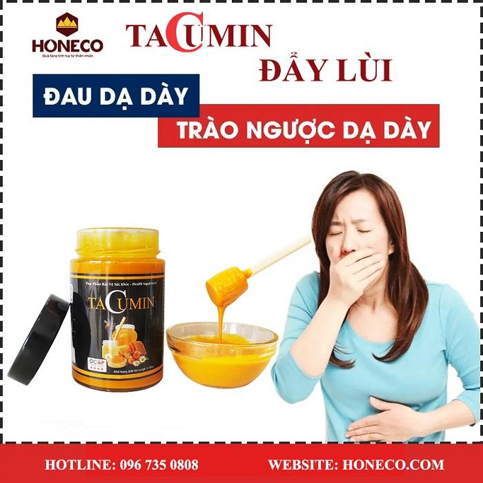 Vì sao có thể chữa đau dạ dày bằng mật ong nghệ mật ong tacumin